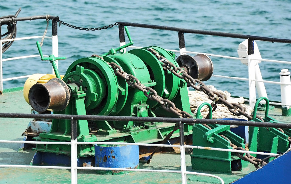 Anchor Handling and Mooring Winches