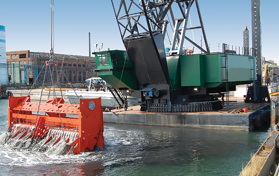 Largest Barge Dredge