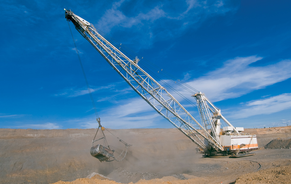 Dragline Mine Application